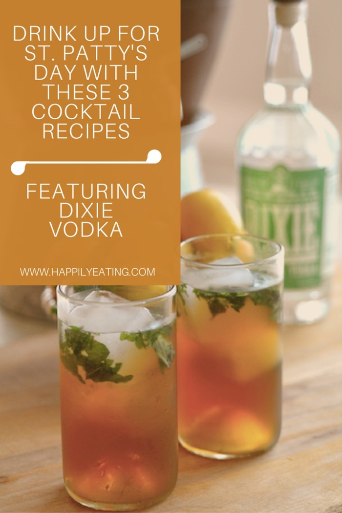 Dixie Vodka Cocktail Recipes