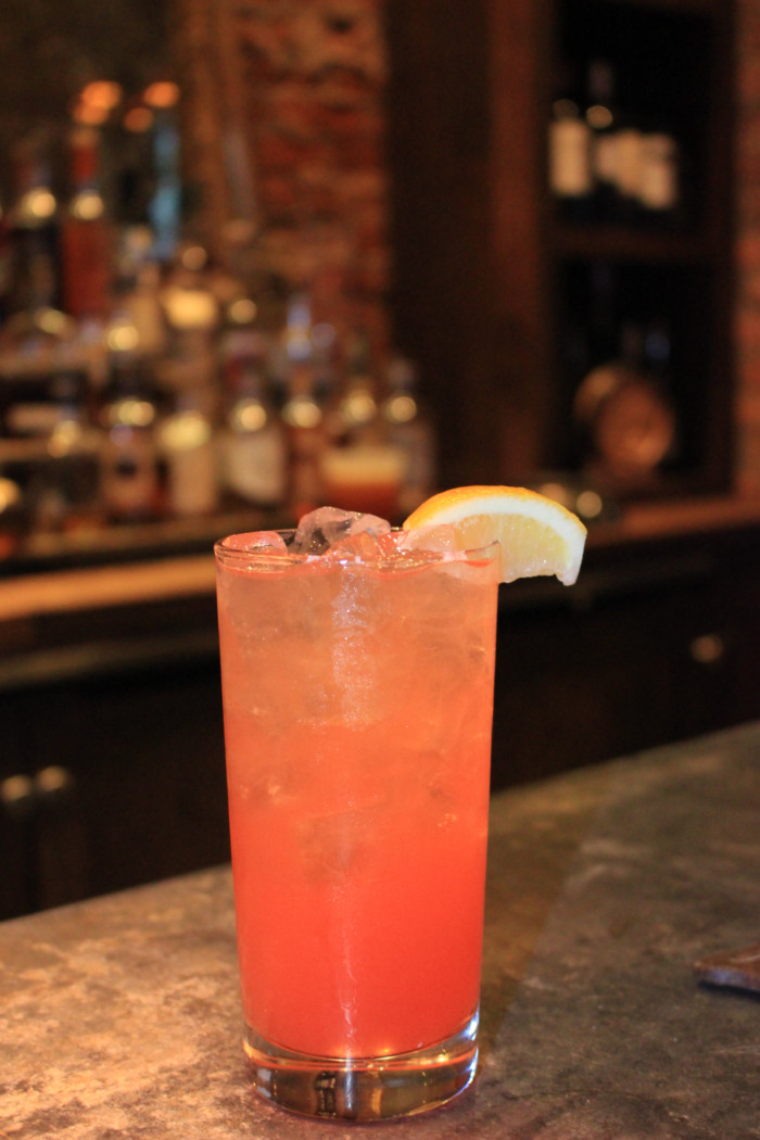 Parish Brasserie & Cafe Atlanta | Strawberry Fields - Vodka, strawberry-lemon, aperol and orange bitters